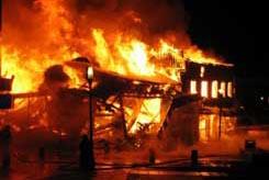 Burning_house fire damage kansas city