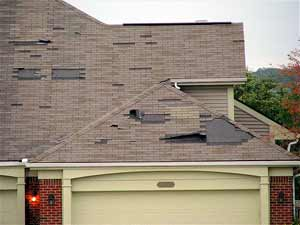 roof damage from storms - hiring expert contractors