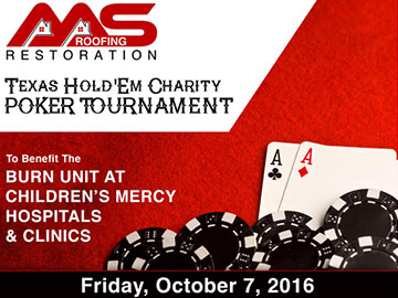 AAS Roofing & Restoration Poker Tournament