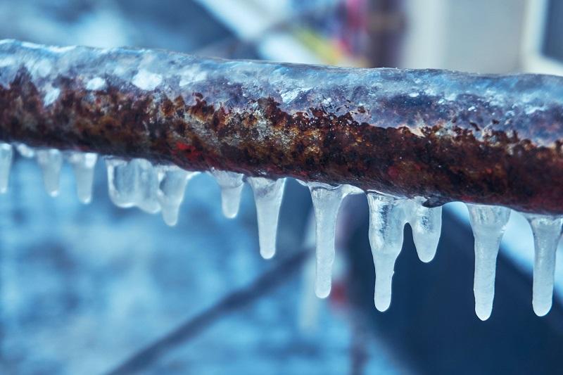 AAS Restoration frozen pipes water damage Nov 2018
